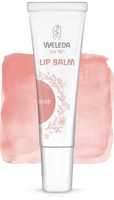 Weleda, Увлажняющий бальзам для губ, 10 мл (2 тона), 10 мл, Berry red 03 berry red