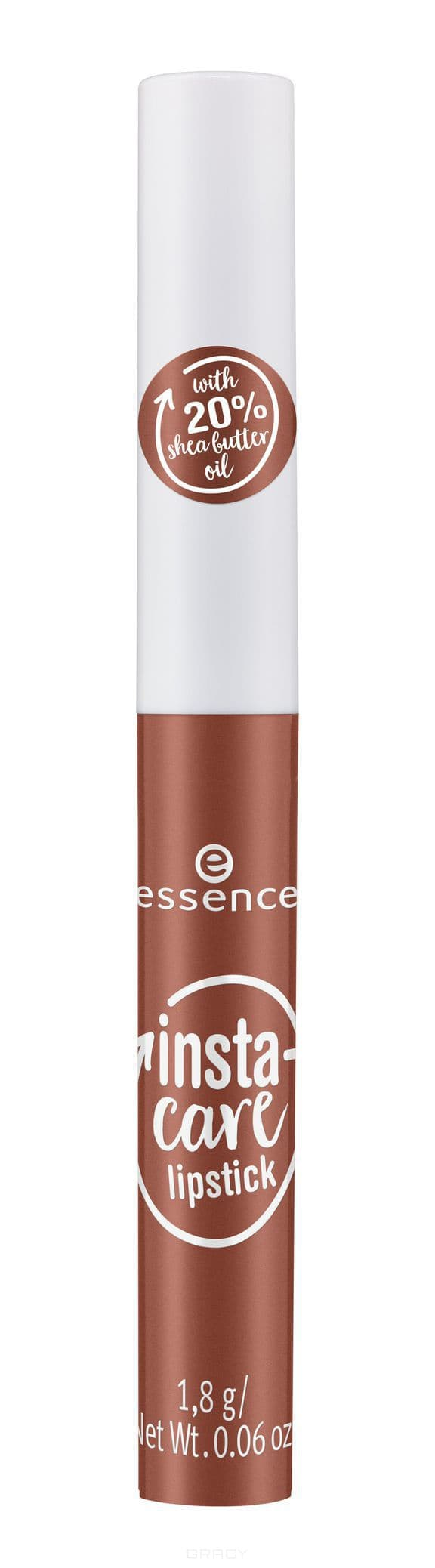 Купить Essence, Губная помада Insta-Care, 1.8 гр (6 тонов) №01, коричневый нюд