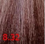 Купить Kaaral, Крем-краска для волос Baco Permament Haircolor, 100 мл (106 оттенков) 8.32 светлый блондин золтисто фиолетовый