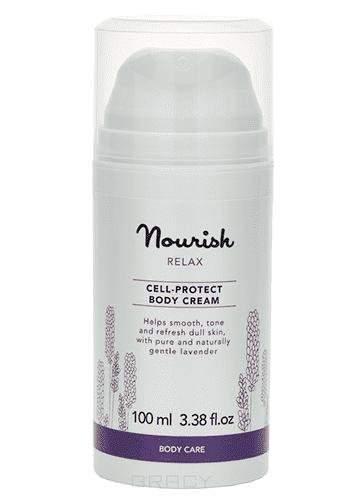 Успокаивающий крем для тела, для чувствительной кожи Relax Body Cream Nourish, 100 мл крем для тела elizavecca массажный крем для тела milky piggy k o cream объем 100 мл