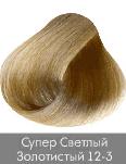 Nirvel, Краска для волос ArtX (95 оттенков), 60 мл 12-3 Золотистый суперосветлительОкрашивание<br>Краска для волос Нирвель   неповторимый оттенок для Ваших волос<br> <br>Бренд Нирвель известен во всем мире целым комплексом средств, созданных для применения в профессиональных салонах красоты и проведения эффективных процедур по уходу за волосами. Краска ...<br>