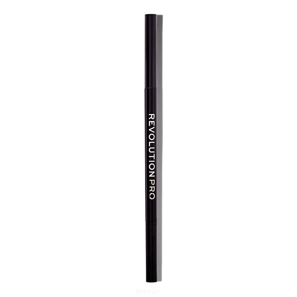Купить Revolution Pro, Контур для бровей Microblading Precision Eyebrow Pencil (5 цветов), 10 гр, Dark Brown
