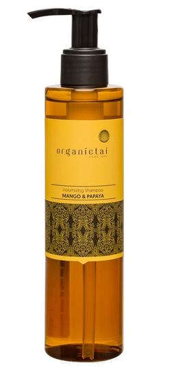 Купить Organic Tai, Безсульфатный шампунь для объема волос с манго и папайей Volumizing Shampoo Mango & Papaya, 200 мл
