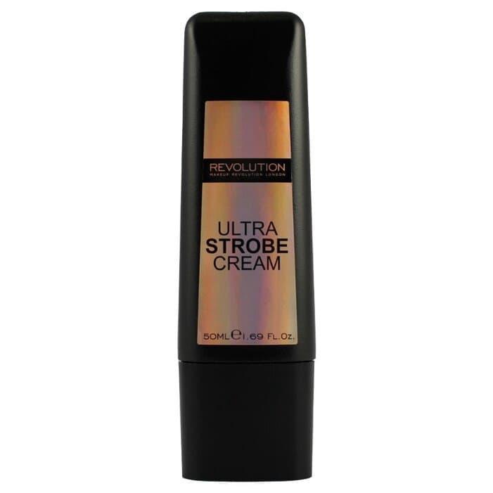 Купить MakeUp Revolution, Кремовый хайлайтер для лица Ultra Strobe Cream, 50 мл