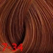 Estel, Краска для волос Princess Essex Color Cream, 60 мл (135 оттенков) 7/34 Средне-русый золотисто-медный /коньяк estel estel princess essex краска для волос 10 34 светлый блондин золотисто медный шампань 60 мл