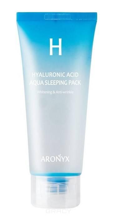 Купить Medi Flower, Увлажняющая ночная маска с гиалуроновой кислотой Aronyx Hyaluronic Acid Aqua Sleeping Pack, 100 мл