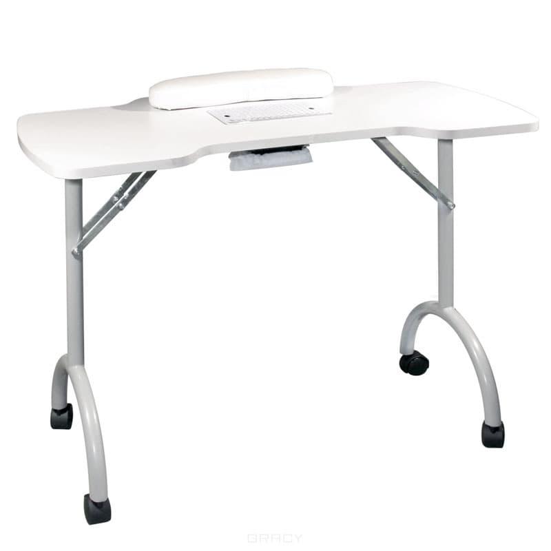 Стол для маникюра складной с пылесосом Space Plus стол складной larsen camp ft 015