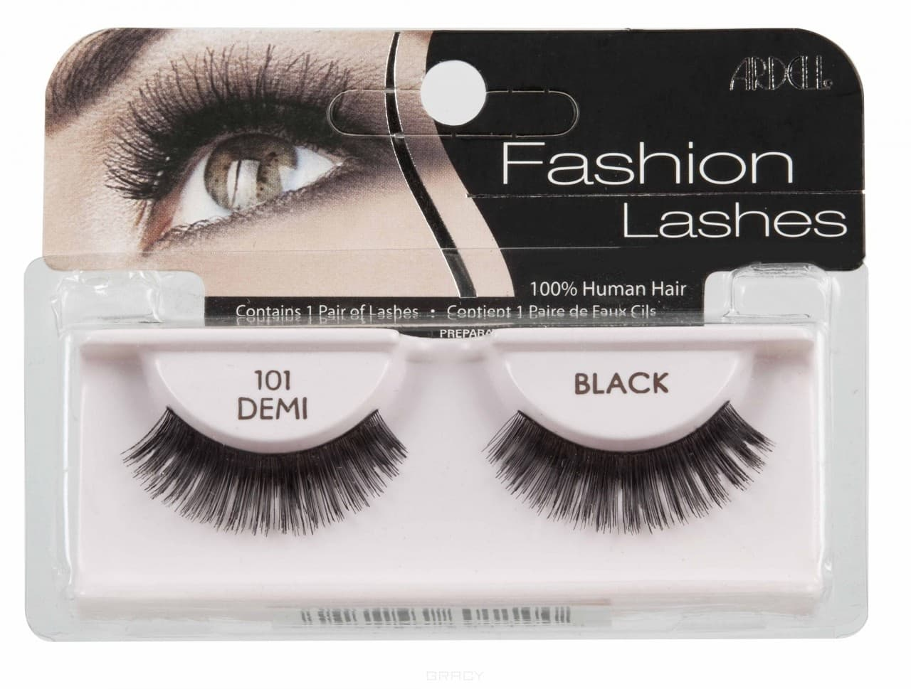 Ardell, Накладные ресницы Fashion Lashes 101 DEMI накладные ресницы ardell magnetic strip lash double demi wispies цвет double demi wispies variant hex name 000000