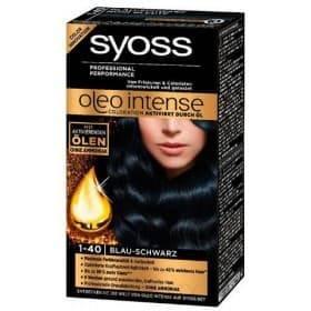 Syoss, Краска для волос Oleo Intense, 115 мл (26 оттенков) 1-40 Иссиня-черныйОкрашивание<br><br>