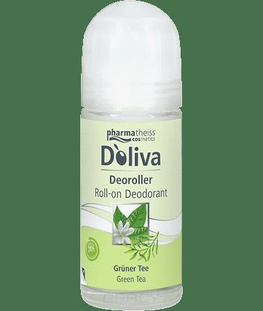 Дезодорант роликовый Зеленый чай, 50 млОписание:&#13;<br> &#13;<br> Роликовый дезодорант D Oliva линии «Зеленый чай» создан на основе высокоэффективной формулы, содержащей тосканское оливковое масло первого холодного отжима и экстракт зеленого чая. Такой состав гарантирует бережный уход за кожей и свежесть в течение 24-х часов. Дезодорант D Oliva не содержит спирта, препятствует появлению раздражения на коже после удаления волос в подмышечных впадинах и имеет легкий аромат свежести.&#13;<br> &#13;<br> Способ применения:&#13;<br> &#13;<br> Наносить на чистую сухую кожу в подмышечной области.&#13;<br> &#13;<br> Состав:&#13;<br> &#13;<br> Aqua, Aluminium Chlorohydrate, Dicaprylyl Ether, Hydroxypropyl Starch Phosphate, PPG-14 Butyl Ether, Glycerin,Tridecyl Salicylate, C12-13 Alkyl Lactate, Hexyldecanol, Ceteareth-25, Parfum, Behenyl Alcohol, Glyceryl Stearate, Glyceryl Stearate Citrate, Disodium Ethylene Dicocamide PEG-15 Disulfate, Camelia Sinensis Extract, Olea Europaea Fruit Oil, Phenoxyethanol, Ethylhexylglycerin, Potassium Sorbate, Citral, Citronellol, Geraniol, Hexyl Cinnamal, Limonene, Lin...<br>