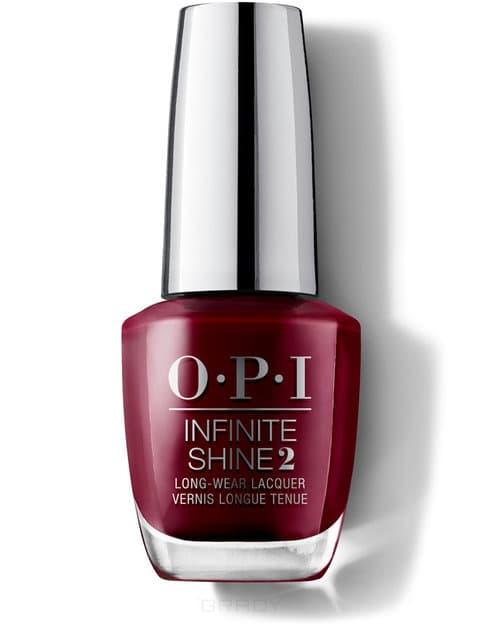 OPI, Лак с преимуществом геля Infinite Shine, 15 мл (190 цветов) Malaga Wine / Iconic opi лак для ногтей classic nll87 malaga wine 15 мл