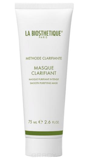 Купить La Biosthetique, Очищающая маска для жирной и воспаленной кожи на основе белой глины, ромашки и масла жожоба Methode Clarifante Masque Clarte, 75 мл