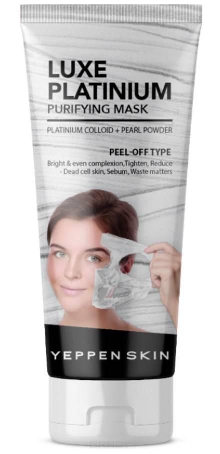 Купить Yeppen Skin, Маска пленка люкс с коллоидной платиной, для ровного тона лица Luxe Platinium Purifying Mask -Peel-off Type, 100 мл
