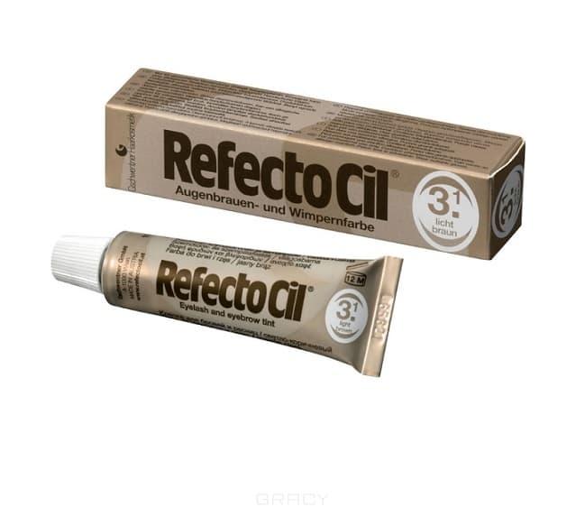 RefectoCil, Краска для бровей и ресниц, 15 мл (10 цветов) №3.1 Светло-коричневый