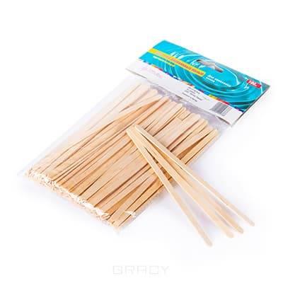 Sweet Epil, Шпатели деревянные малые White Line, 100 штАксессуары и расходные материалы для депиляции<br><br>