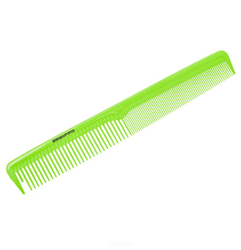 Denman, Расческа для стрижки салатовая, 1 шт, DPC4GRN 259 мм denman расческа для стрижки фуксия dpc3