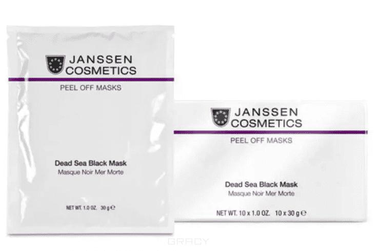 Janssen, Альгинатная маска на основе грязи Мертвого моря Black Dead Sea Mask, 30 гр шарф ea7 285543 7a393 00010