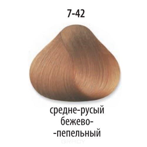 Constant Delight, Стойкая крем-краска для волос Delight Trionfo (63 оттенка), 60 мл 7-42 Средний русый бежевый пепельныйОкрашивание<br>Краска для волос Constant Delight Trionfo - это уникальное средство, способное придать волосам здоровый вид и блеск.<br>  <br>Крем-краска Трионфо от Констант Делайт наосится на невымытые сухие волосы. Выдерживается средство на волосах до 45 минут. <br> Constan...<br>