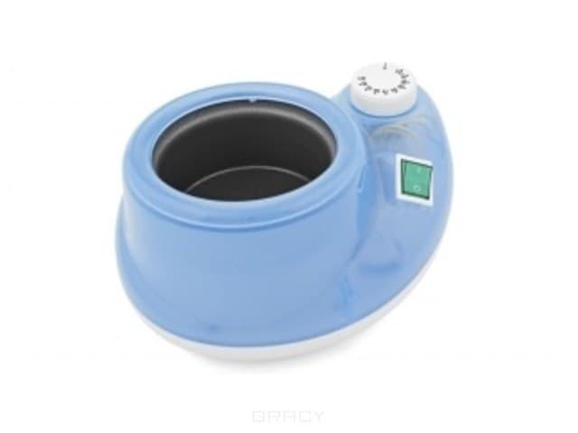 Evowax, Подогреватель для банок, 400/500 мл (5 цветов) Белый с голубымТехника для депиляции<br><br>