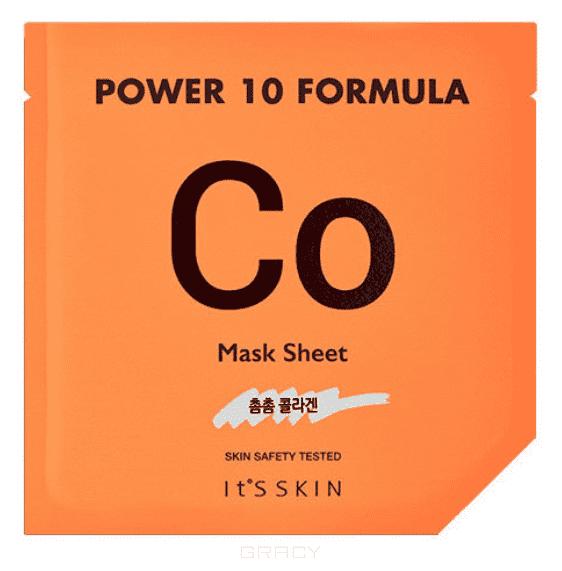 Купить It's Skin, Power 10 Formula Mask Sheet CO Тканевая маска коллагеновая Итс Скин, 25 мл