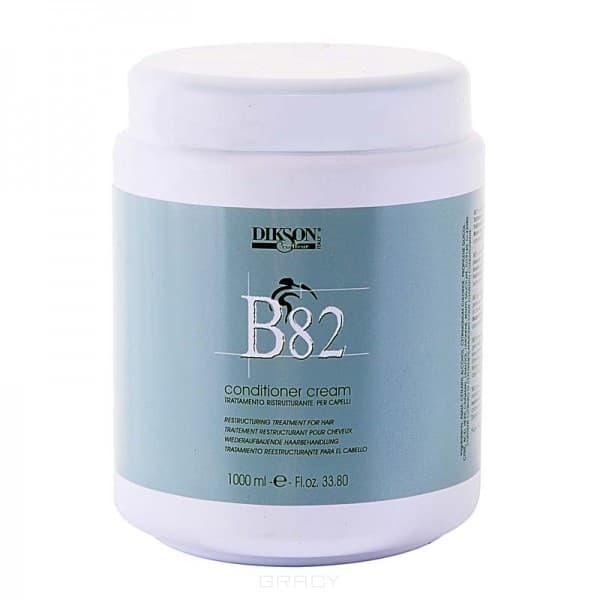 Крем-кондиционер В82 Conditioner Cream, 1 лDikson В82 Conditioner Cream бережно лечит и восстанавливает очень сухие и ослабленные волосы. Обеспечивает им защиту от негативных факторов окружающей среды. В основе крема-кондиционера лежит провитамин В5, который увлажняет и восстанавливает волосы на структурном уровне.&#13;<br>    &#13;<br>  &#13;<br>    &#13;<br>  &#13;<br>   &#13;<br> &#13;<br>   &#13;<br>    Способ применения&#13;<br>   &#13;<br>    Интенсивный уход: на слабых и поврежденных волосах средство держат 10-20 минут, а потом смывают. Постоянный уход: по окончании курса лечения и интенсивного ухода крем-кондиционер наносят на волосы всего на 2 минуты, чтобы поддержать их оптимальное состояние.&#13;<br>        &#13;<br>      &#13;<br>        &#13;<br>      &#13;<br>   &#13;<br> &#13;<br> &#13;<br>&#13;<br>  &#13;<br>    Состав: &#13;<br>        &#13;<br>      Провитамин В5 увлажняет и питает. Фруктовые кислоты обеспечивают максимально приятный восстанавливающий эффект, укрепляющий кутикулу и уровень pH, придающий здоровый блеск волосам.<br>