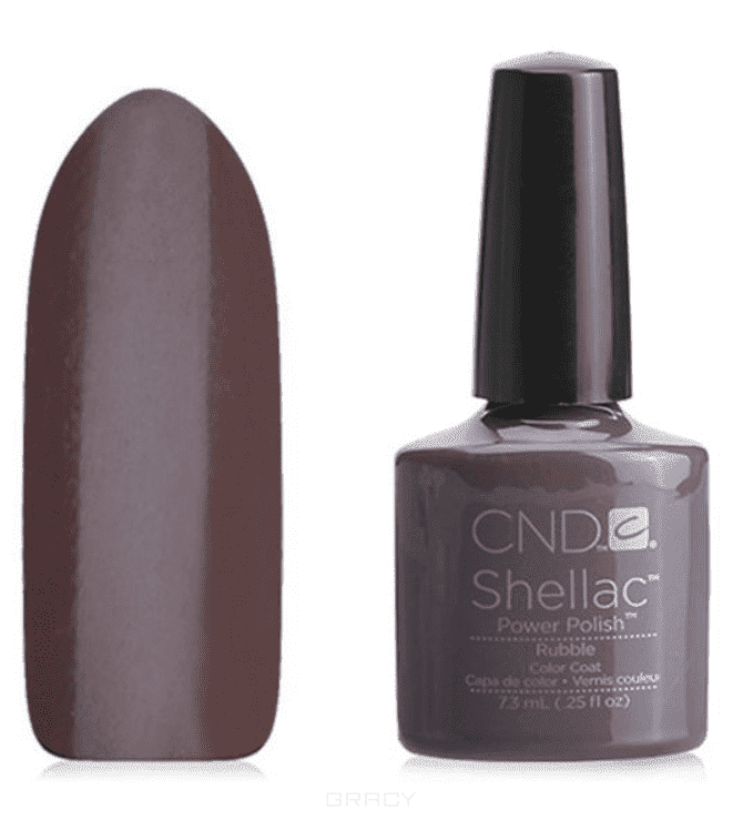 CND (Creative Nail Design), Гель-лак UV Shellac шеллак (58 оттенков) Rubble a big day for migs