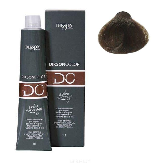 Dikson, Стойкая парфюмированная крем-краска для волос Extra Coverage, 120 мл (8 оттенков) 122-06 6.11 Dikson color extra coverage 6C/E темно-русый с пепельным оттенком цена