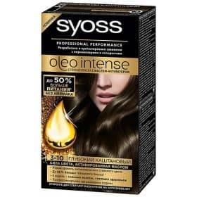 Syoss, Краска для волос Oleo Intense, 115 мл (26 оттенков) 3-10 Глубокий каштановыйОкрашивание<br><br>