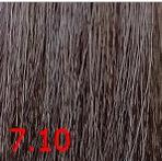 Купить Kaaral, Крем-краска для волос Baco Permament Haircolor, 100 мл (106 оттенков) 7.10 пепельный блондин