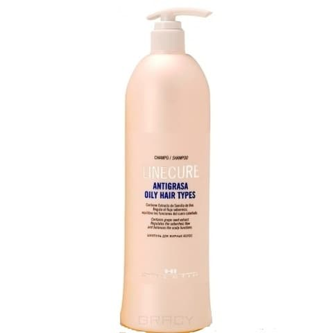 Hipertin, Шампунь дл жирных волос Linecure Oily Hair Types Shampoo, 1000 млУход за волосами Hipertin Linecure<br><br>
