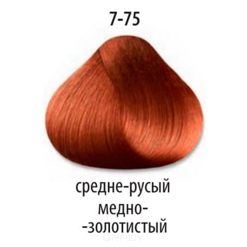 Constant Delight, Стойкая крем-краска для волос Delight Trionfo (63 оттенка), 60 мл 7-75 Средний русый медный золотистыйОкрашивание<br>Краска для волос Constant Delight Trionfo - это уникальное средство, способное придать волосам здоровый вид и блеск.<br>  <br>Крем-краска Трионфо от Констант Делайт наосится на невымытые сухие волосы. Выдерживается средство на волосах до 45 минут. <br> Constan...<br>