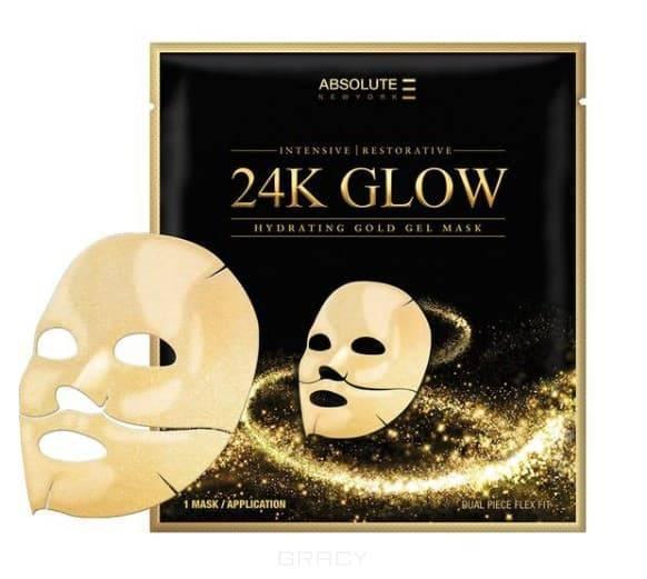 цена на Маска для лица золотая гидрогелевая 24K Glow Gold Gel Mask