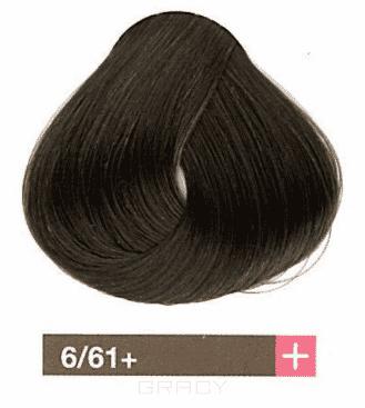 Lakme, Перманентная крем-краска Collage, 60 мл (99 оттенков) 6/61+ Темный блондин интенсивный коричнево-пепельный barex крем краска для волос 6 66 темный блондин красный интенсивный joc color 100 мл