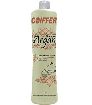 Coiffer, Шампунь для волос Argan Limpa e Hidrata Шаг 1, 1 лКератиновое выпрямление и восстановление волос<br><br>