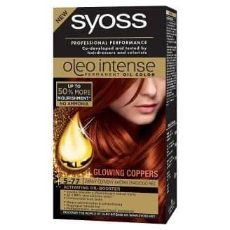 Syoss, Краска для волос Oleo Intense, 115 мл (26 оттенков) 5-77 Глянцевая бронзаОкрашивание<br><br>