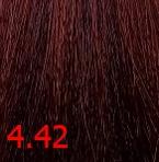 Купить Kaaral, Крем-краска для волос Baco Permament Haircolor, 100 мл (106 оттенков) 4.42 медно-фиолетовый каштан