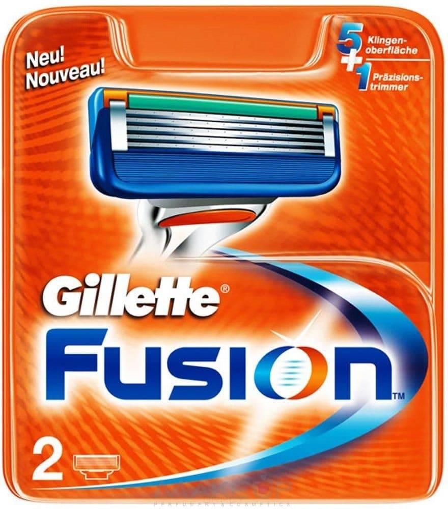 купить Gillette, Сменные кассеты для бритья Fusion, 4 шт./уп. по цене 1264 рублей