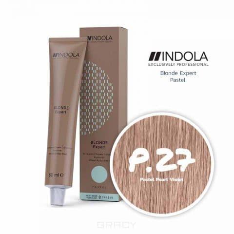 Indola, Индола краска для волос профессиональная Profession, 60 мл (палитра 169 тонов) Блонд Эксперт Краситель для тонирования волос P.27 Pastel Pearl Violet