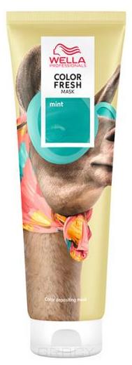 Купить Wella, Оттеночная маска Color Fresh Mask, 150 мл (11 цветов) Мятный