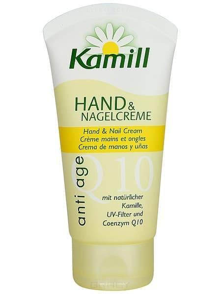Kamill, Крем для рук и ногтей Anti age Q10, 75 мл крем для рук и ногтей kamill sensitive 75 мл 24 часа 933171