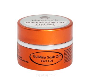 Купить Planet Nails, Гель Building Soak Off Prof Gel моделирующий прозрачный гель, 50 г