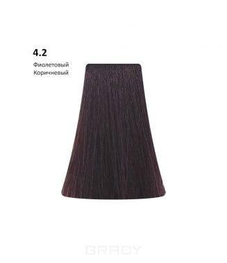 Купить BB One, Перманентная крем-краска Picasso Colour Range без аммиака (76 оттенков) 4.2Violet Brown/Фиолетовый Коричневый