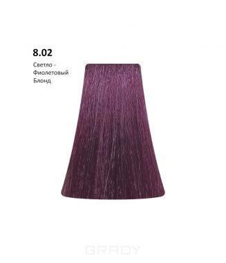 Купить BB One, Перманентная крем-краска Picasso (153 оттенка) 8.02Light Violet Blond/Светло-Фиолетовый Блондин