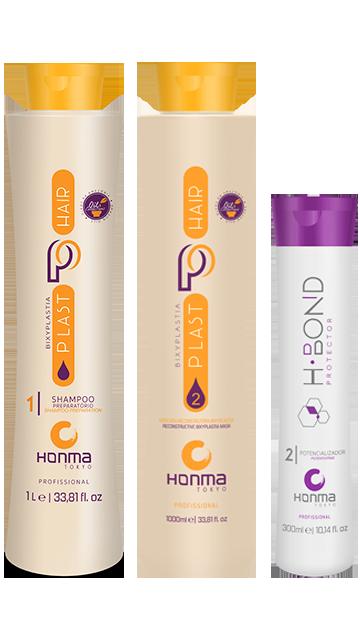 Купить Honma Tokyo, Набор для биксипластии Plast Hair Bixyplastia + H-Bond Protector P2 Набор для биксипластии Plast Hair Bixyplastia + H-Bond Protector P2
