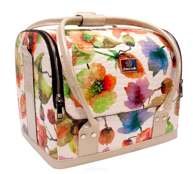 Planet Nails, Сумка-чемодан (4 цвета), 1 шт, АкварельЧемоданы и сумки профессиональные<br><br>