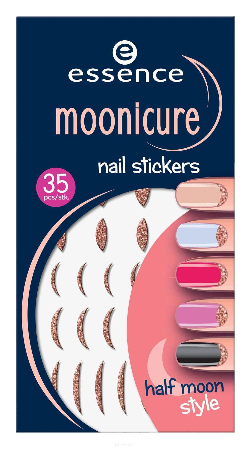 Наклейки для лунного маникюра Moonicure Nail Stickers cute nail art stickers black 5 pack