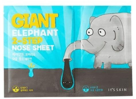 Купить It's Skin, Giant Elephant 2-Step Nose Sheet Система против черных точек