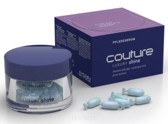 Купить Estel, Haute Couture Люминайзер-сыворотка для волос Роскошь цвета Эстель Luxury Shine Serum, 17*0, 95 мл