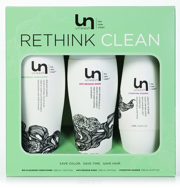 Набор средств Retail Kit, (400мл+300мл+190мл)Оригинальный набор средств Unwash для ухода за волосами уникальным методом Co-Wash. &#13;<br>Натуральные ингредиенты&#13;<br> &#13;<br>Для всех типов волос &#13;<br>   &#13;<br>    &#13;<br>   &#13;<br> &#13;<br>  В наборе:&#13;<br> &#13;<br>  Кондиционер очищающий 400 мл&#13;<br> &#13;<br>  Ополаскиватель щадящий 300 мл&#13;<br> &#13;<br>  Увлажняющая маска 190 мл<br>