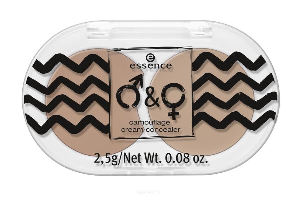 Essence, Консилер для лица Boys & Girls Camouflage Cream Concealer 01, 2.5 гр  - Купить